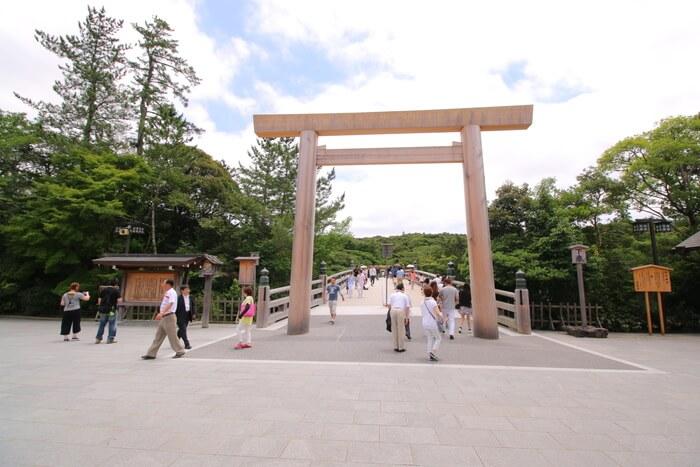 Đền thờ Ise-jingu - Điện trong Naiku tại Mie