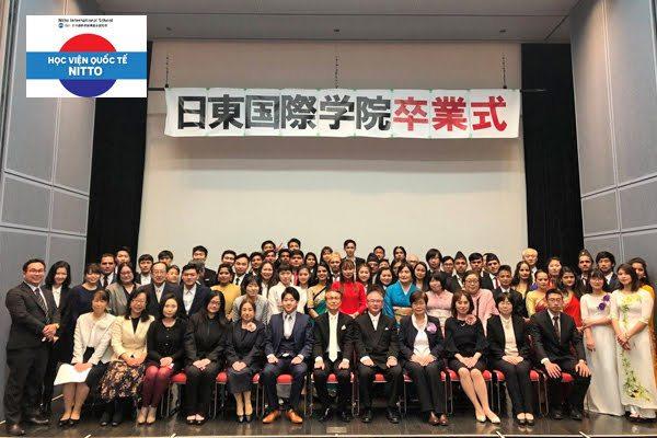 Du học Nhật học viên quốc tế Nitto