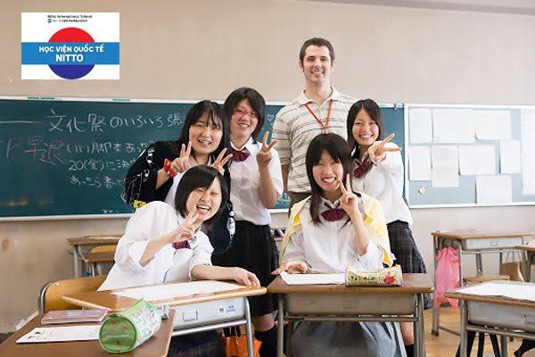 học viên học viện quốc tế Nitto