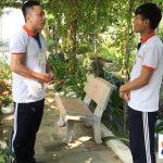 Học viên Hanoilink thực hiện hội thoại ngắn theo chủ đề