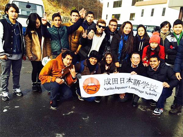 học sinh trường nhật ngữ Narita