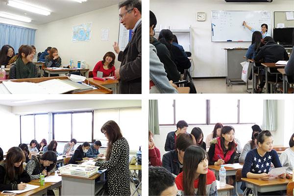 Lớp học trường nhật ngữ shurin