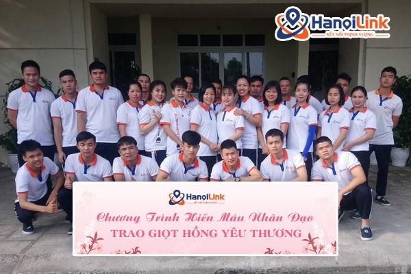 chương trình hiến máu nhân đạo Hanoilink