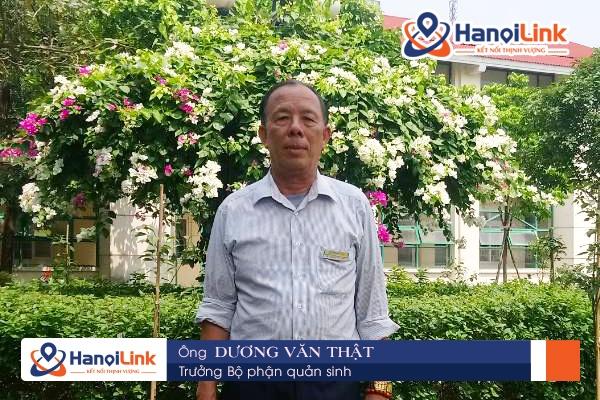 Trưởng bộ phận quản sinh Hanoilink
