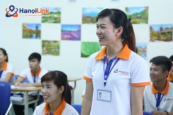 Học viên trung tâm Hanoilink