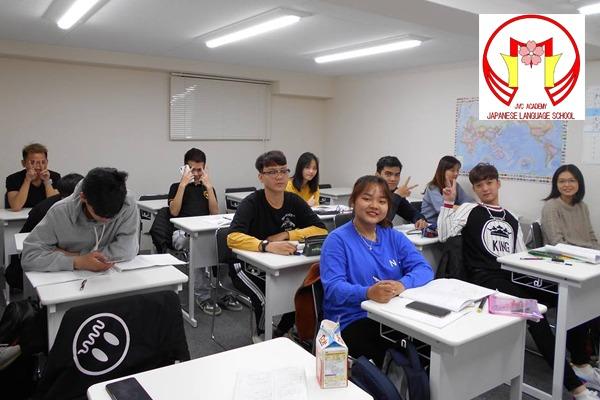 Lớp học trường jvc Academy