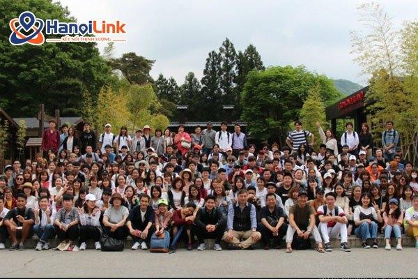 học viên trường nhật ngữ Tokyo Johoku