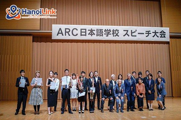 Học viên trường Nhật ngữ ARC Academy
