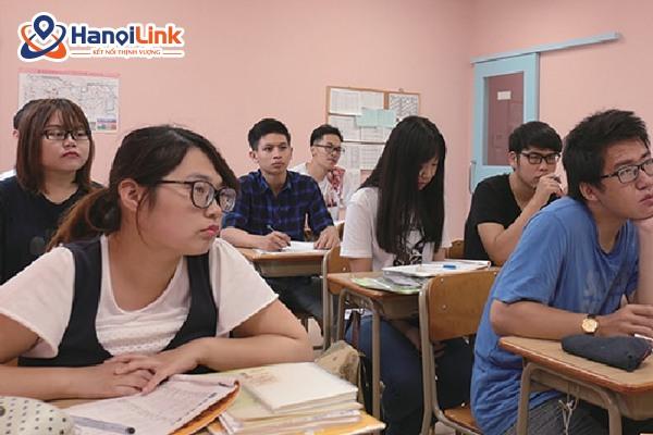 Lớp học trường nhật ngữ kinoshita Campus