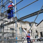 Đơn hàng xây dựng giàn giáo theo visa đặc định ở Tokyo